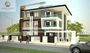 modern elevation design of residential buildings front elevation