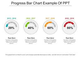 Progress Bar Chart Example Of Ppt Powerpoint Shapes