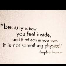The Beauty Inside Quotes Best of Beauty Is How You Feel Inside And It Reflects In Your Eyes It Is Not