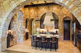 natural home elements stone kitchen