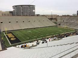 Kinnick Stadium Section 131 Home Of Iowa Hawkeyes