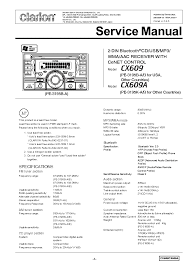 clarion cz100 wiring diagram wiring diagram and schematic design clarion cz102 single din car stereo w aux input