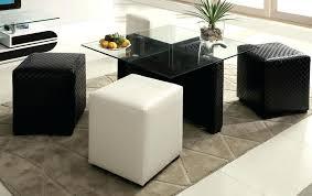 white ottoman coffee table black ottoman coffee table glass top white leather ottoman coffee table