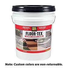 Floor Tex 40 Textured Concrete Coating Custom Color