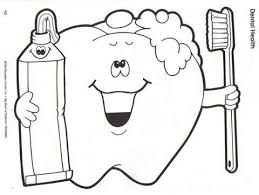 Small Picture 69 best Dental Coloring Pages images on Pinterest Coloring pages