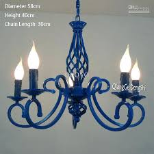 black iron chandelier brand new with high quality model diameter length includes light australia