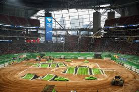 Monster Jam Atlanta Seating Chart Monster Jam Mercedes Benz Stadium