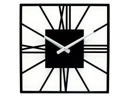 unique clock square wall clock
