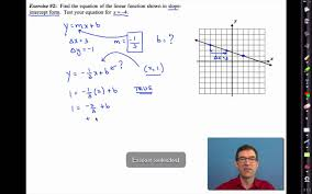 common core algebra i unit 4 lesson 5 writing equations of lines you