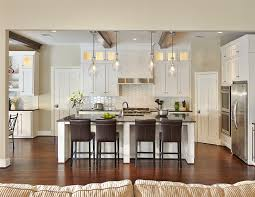 Gorgeous Kichler Lighting In Kitchen Traditional With Molding Around Door  Next To Refrigerator Placement Alongside Hexagon Tile Backsplash And Bar  Pendant ... Photo Gallery