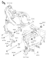 2011 kawasaki ninja 650r ex650c engine mount parts best oem engine unique wiring diagram