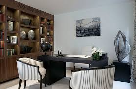 cool home office simple. Wonderful Cool 13Contemporaryhomeofficekeepsthingssimpleandelegant To Cool Home Office Simple O