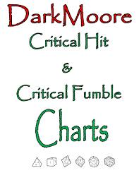 Darkmoore Critical Hit Critical Fumble Charts Archaic