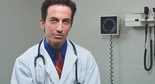 Doctor does prostate massage