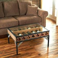 wine rack coffee table bottle display enthusiast with glass top plans medium size diy