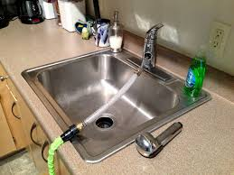 kitchen sinks great kitchen faucet to garden hose adapter