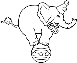 Small Picture Printable Elephant Coloring Pages Coloring Me