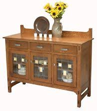 dining room sideboard. amish mission glenwood dining room sideboard buffet server wood leaded glass