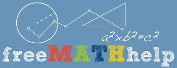 mathematics homework help math lessons algebra geometry trigonometry calculus statistics interactive problem