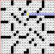 as a solver i m easy to please i love wacky envelope pushing krozel esque puzzles as much as the next guy but honestly if you give me a simple theme