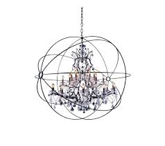 extra large orb chandelier eimatco with regard to contemporary household orb chandelier canada plan