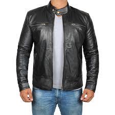 garcia slim fit biker jacket