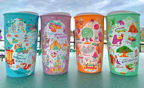 For every perfect beverage, there is a perfect cup. Photos New Starbucks Ceramic Tumblers For Magic Kingdom Epcot Disney S Hollywood Studios And Disney S Animal Kingdom Debut At Walt Disney World Wdw News Today