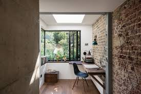 architect home office. The Shower\u0027s Been Outfitted With A Ventilation Door To Allow Fresh Garden Air Into Shower, Simulating Feel Of Showering In Outdoors, Architect Home Office E