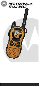motorola walkie talkie manual. 1 motorola walkie talkie manual