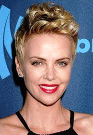 Charlize Theron Short Hair Style charlize theron short hair hairstyles for women 3964 by wearticles.com