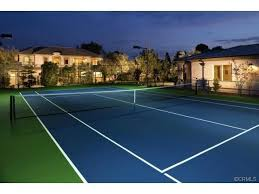 Outdoor Courts For Every Type Of Sport Backyard Basketball Court Backyard Tennis Court Cost