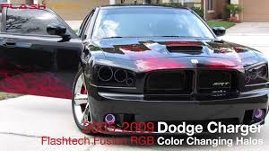 2012 Charger Halo Lights Dodge Charger V 3 Fusion Color Change Led Halo Headlight Kit