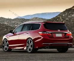 2018 honda accord wagon. simple accord bigger 2018 honda accord spied with sleeker profile drive throughout  2017 honda wagon to accord auto car update