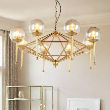 modern chandelier ceiling modern ceiling chandelier lights transpa glass shade