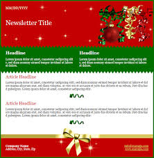 Holiday Newsletter Template Magnificent New Holiday Newsletter Template Releas NewsMAIL Email Marketing