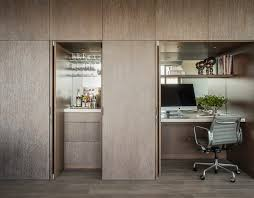 office wet bar. Hidden Wet Bar Home Office Contemporary With Mirror Backsplash Mobile Vertical Filing Cabinets R