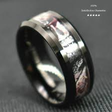 Tungsten Carbide Ring Size Chart 8 6mm Tungsten Carbide Ring Red Forest Camouflage Camo