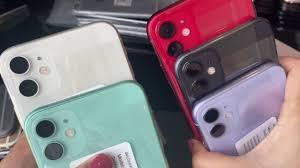 iphone 11 64gb giá 14.5tr có nên mua hàng điện thoại cũ giá rẻ chính  hãng?so sánh màu để chọn cho dễ