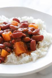 puerto rican rice and beans with chicken. Plain With This Is My Quick Version Of Puerto Rican Style Beans Which I Make With  Either On Rice And Beans With Chicken