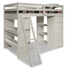 loft bed with shelves. Exellent Loft Skyway Twin Loft Bed With Desk And Storage Tower In Espresso 24209 By  Canwood Bunk U0026 BedsKids Beds At SimplyKidsFurniture Inside With Shelves G