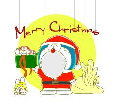 Merry Christmas!   โดราเอมอน, การ์ด, แมว
