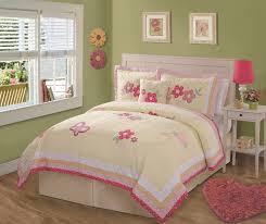 Pink And Cream Bedroom Bedroom Design Green Wall Girls Cute Dorm Bedding Sets Pink Bed