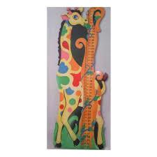 Giraffe Chart Height Chart Giraffe