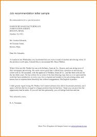 Resume Letter Of Recommendation Job Letters How Toite For Sample