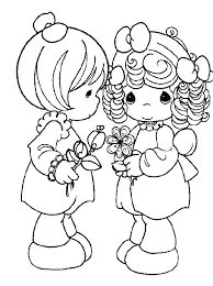 Coloring Pages Precious Moments Print Coloring Pages Precious