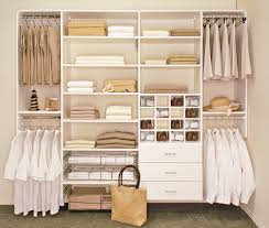 awful white polished wooden floating closet design ideas with clothes bar and drawers storage and drawers in master closet bedroom ideas