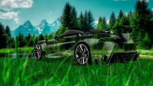 toyota ft 1 crystal nature car