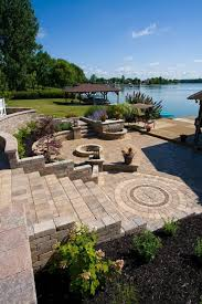 best combinations of retaining wall blocks and pavers for bold pittsburgh pa hardscapes