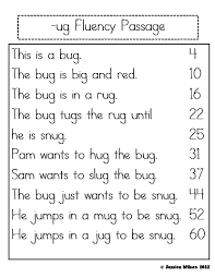 This collection of free reading comprehension worksheets is geared to early readers. Little Learning Stars Phonics Reading Fluency Passages Word Families