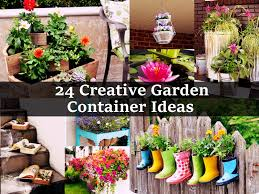 Small Picture 24 Creative Garden Container Ideasjpg